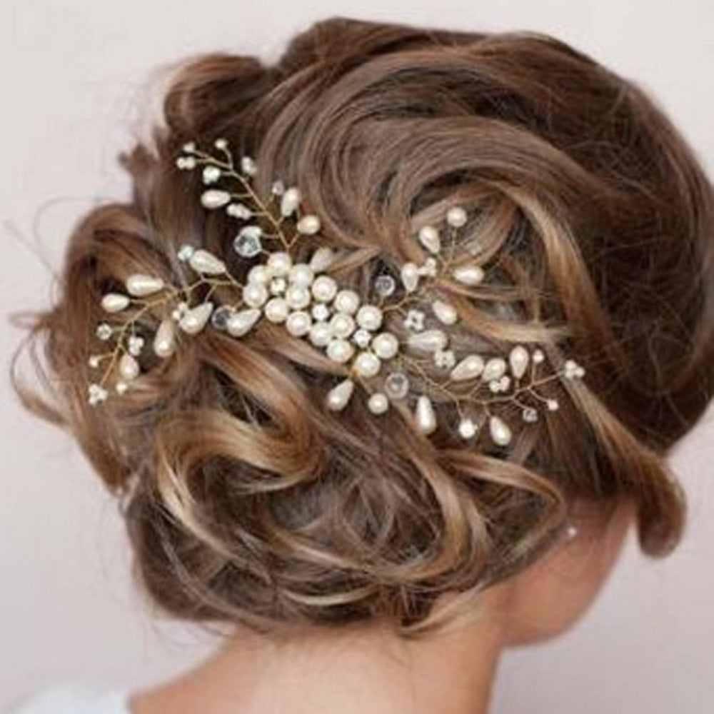 Handmade Head Flower Hair Accessories (Wedding)