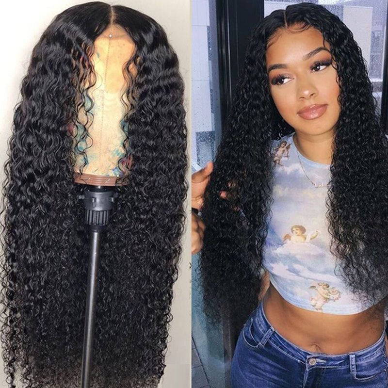 Synthetic Hair Curly Women Capless 22 Inches Wigs