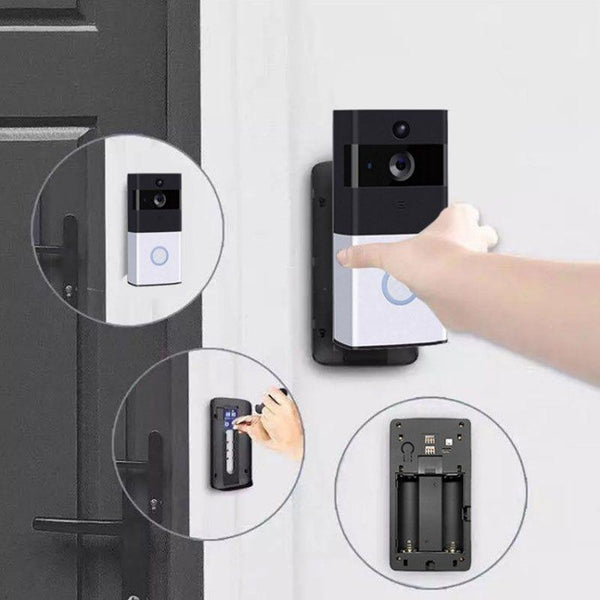 Wireless WIFI Remote Voice Intercom Video Doorbell
