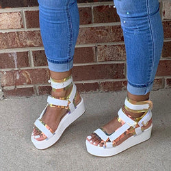 Open Toe Velcro Sandals