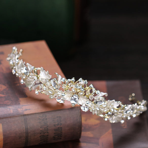 Alloy Rhinestone Crown Hair Accessories Wedding Accessories