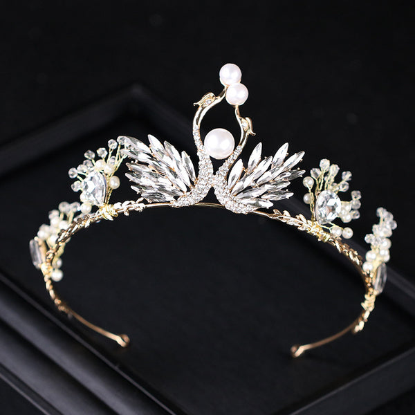 Swan Crown Korean Hair Accessories