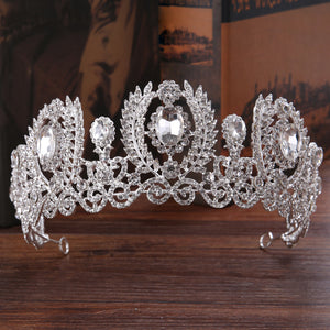 Korean Crown Tiara Hair Accessories (Wedding)