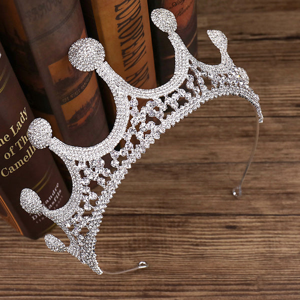 Bridal Wedding Dress Accessories Exquisite Crown Hair Accessories