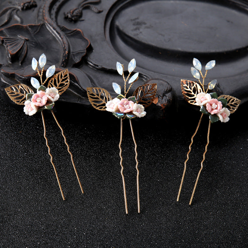 Plant Diamante Headband Birthday Hair Accessories