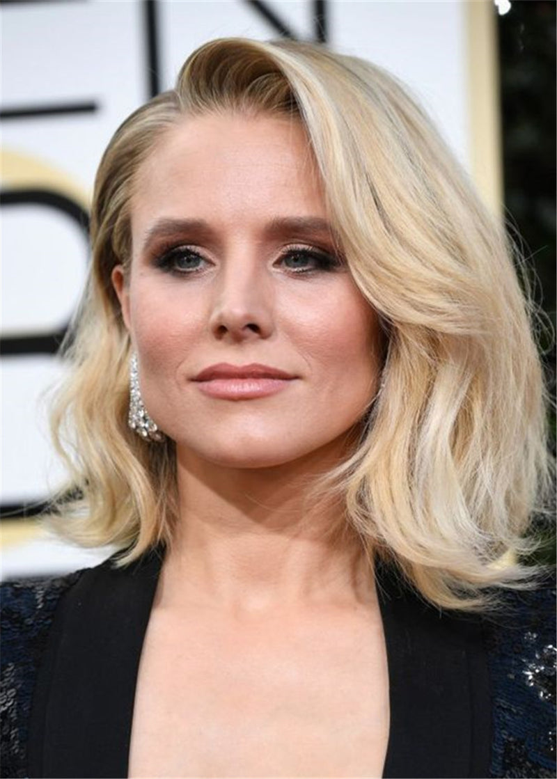 Kristen Bell Hairstyle Synthetic Hair Lace Front Wig