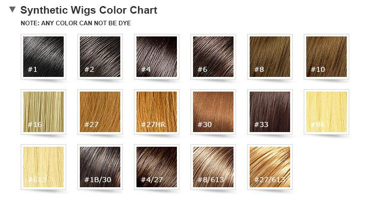 Synthetic Hair Women Loose Wave Capless 16 Inches Wigs ( No Picture Color Sale )