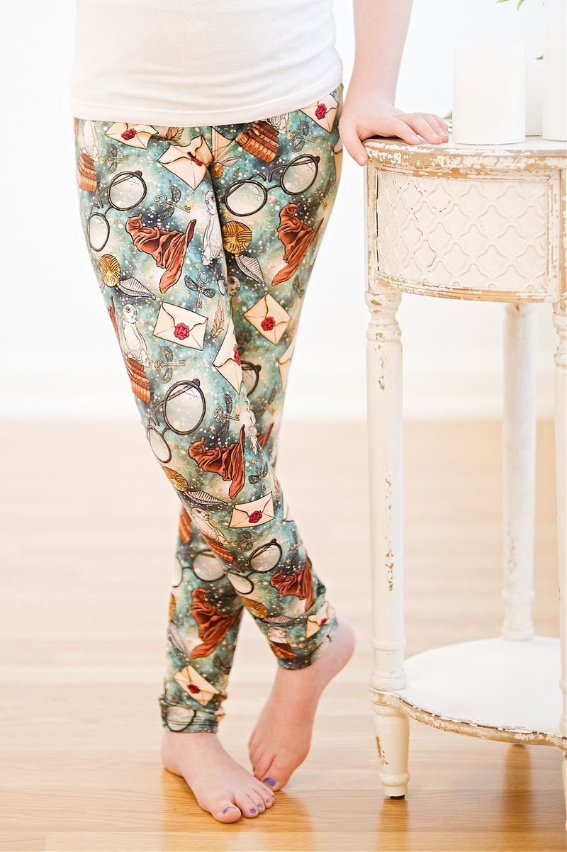 2Eighteen 'Wizard School' Legging *FINAL SALE*