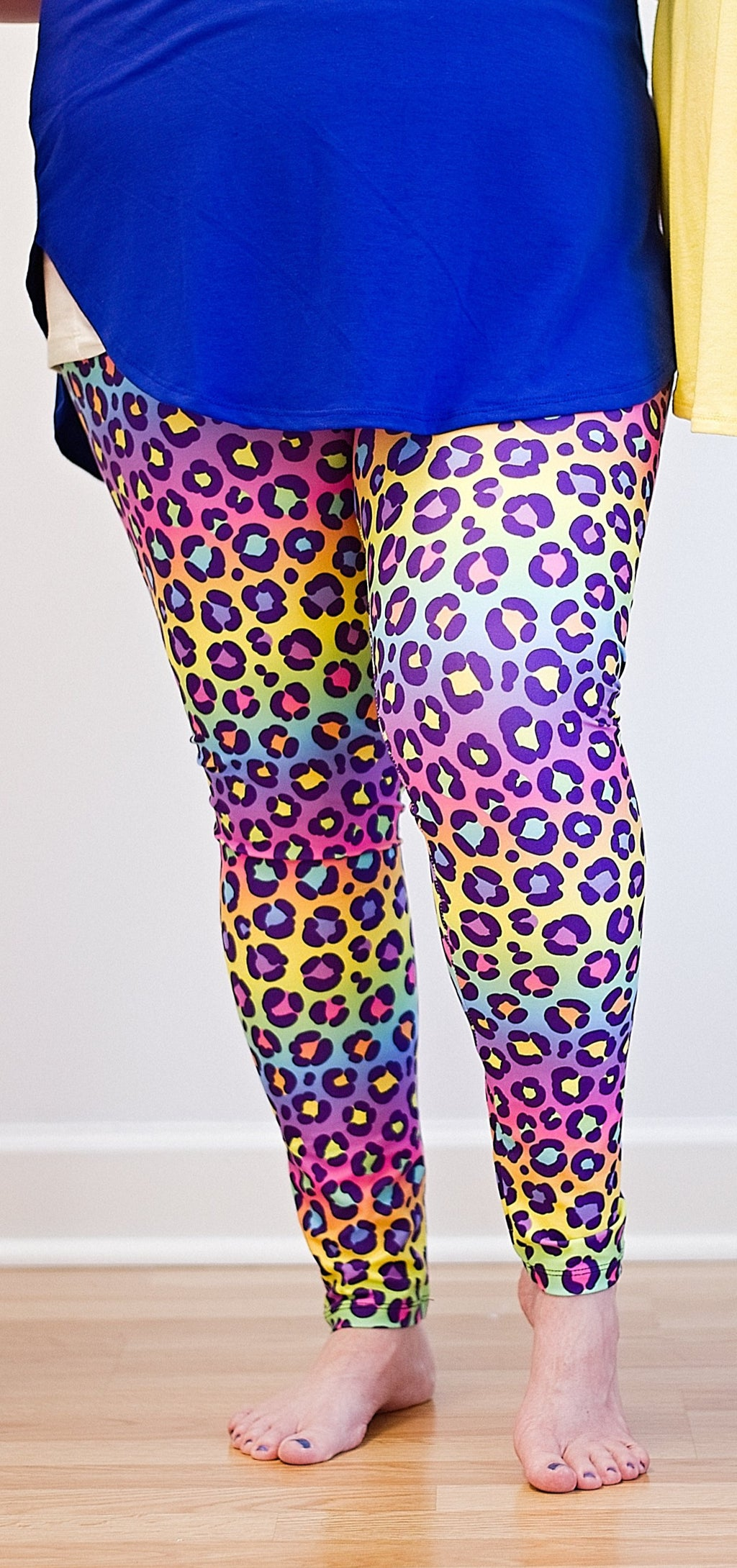 2Eighteen 'Rainbow Cheeta' Legging