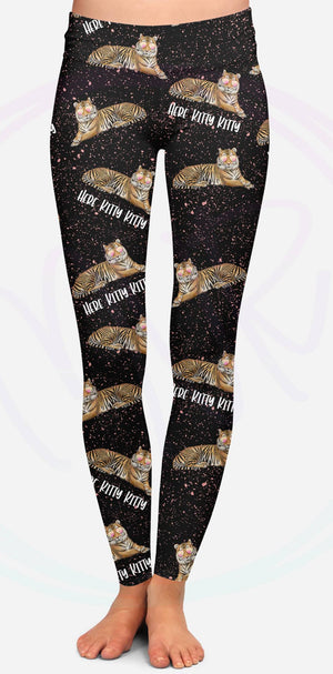 2Eighteen 'HERE KITTY, KITTY' Leggings