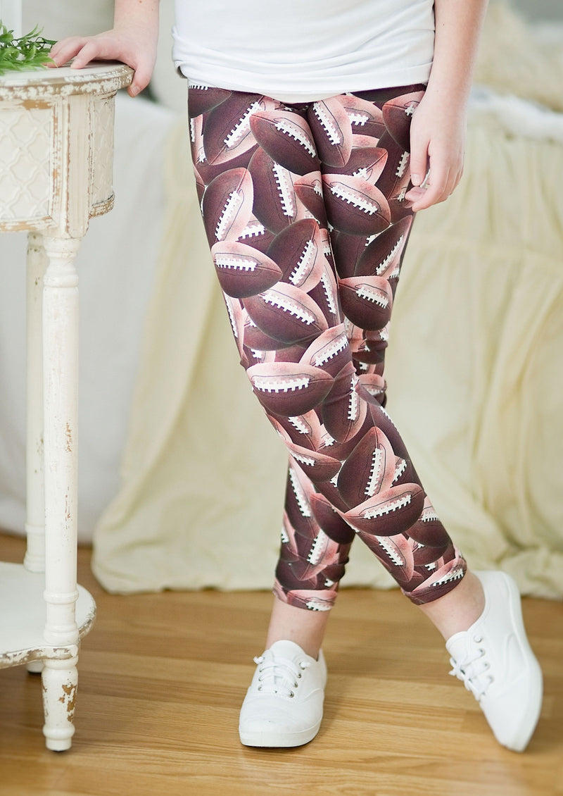 KIDS ~ 2Eighteen 'FAN Football' Legging
