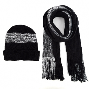 Men's Winter Knit Winter Scarf and Hat Set *FINAL SALE*