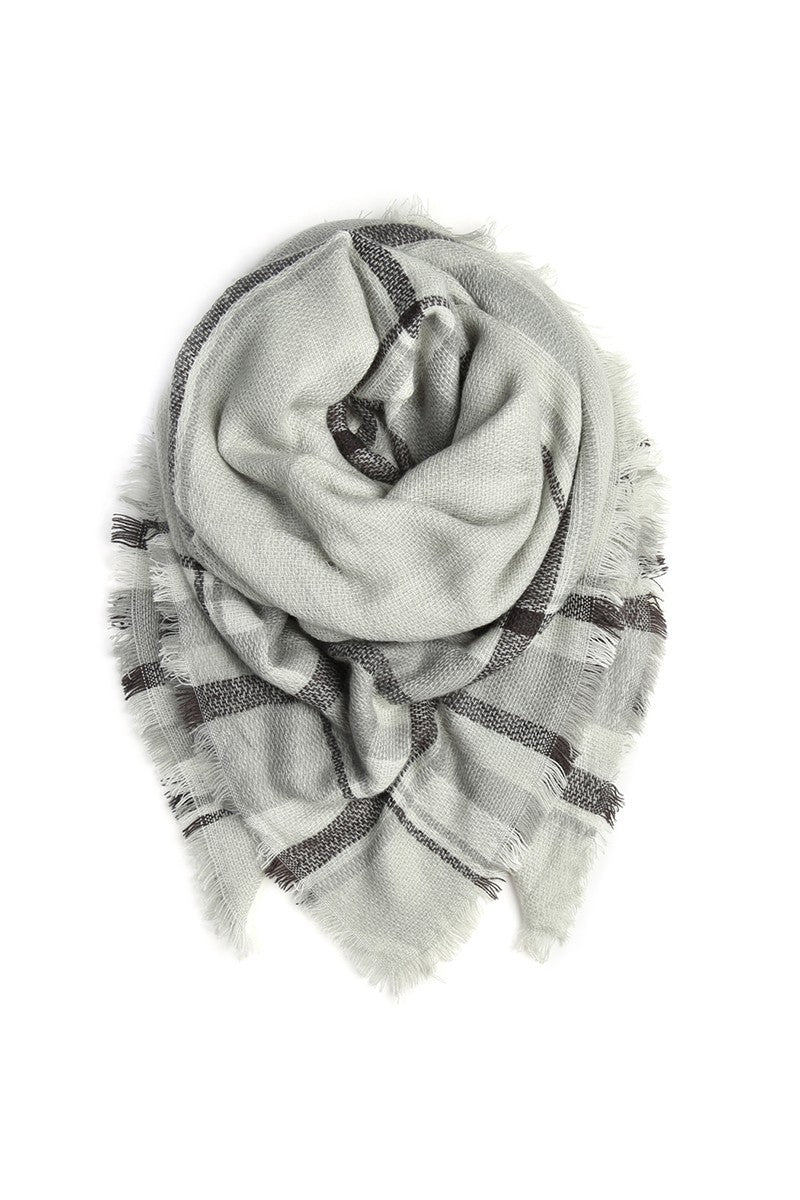 Blanket Fringed Scarf