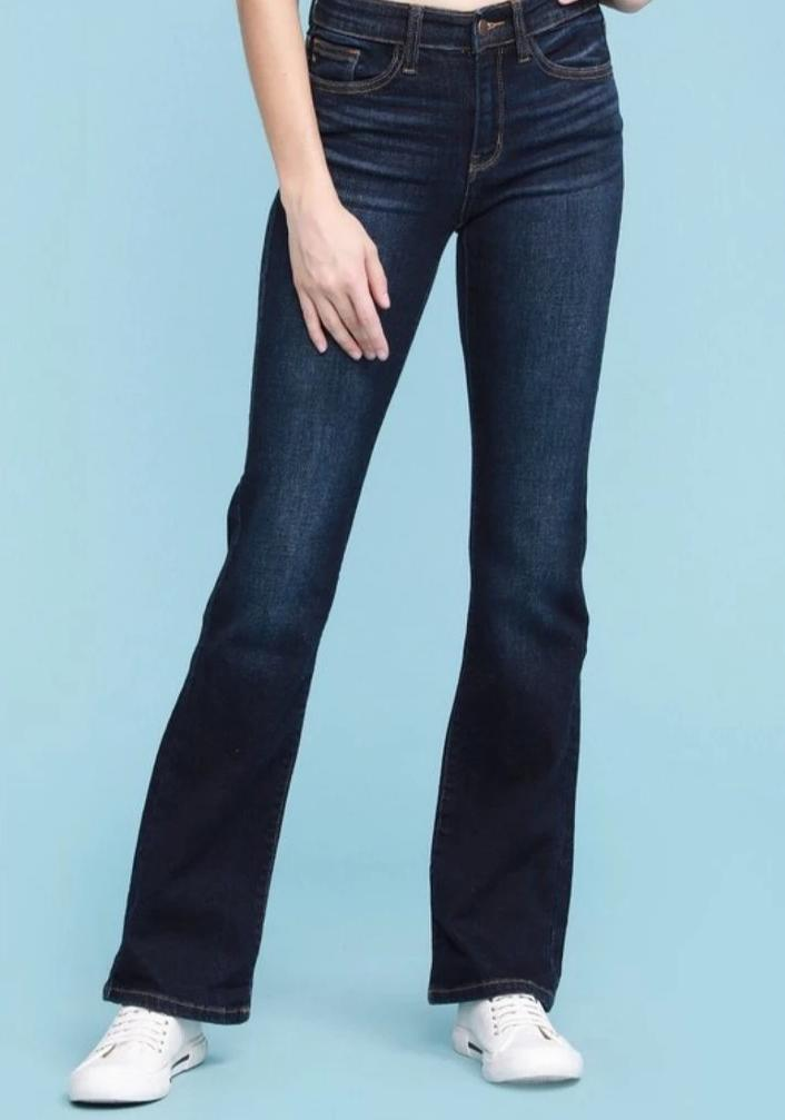 Judy Blue Mid Rise Bootcut Jeans