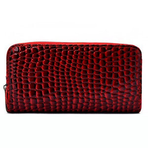 Faux Alligator Leather Fashion Wallet