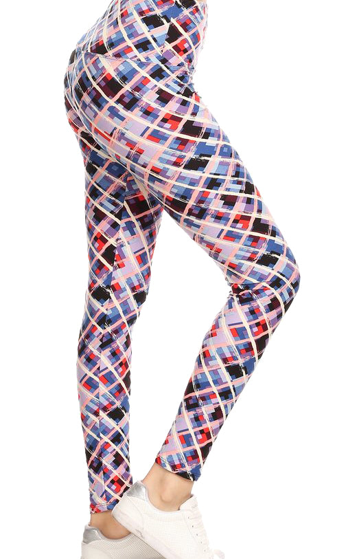 Abstract Print Leggings *FINAL SALE*