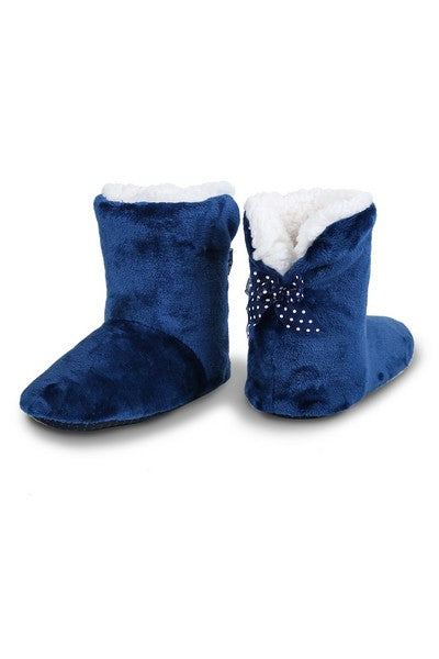 Solid Boot Style Slipper