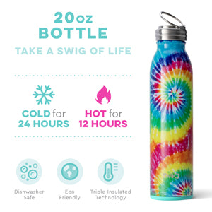 Swig Life™ Water Bottle ~Swirled Peace