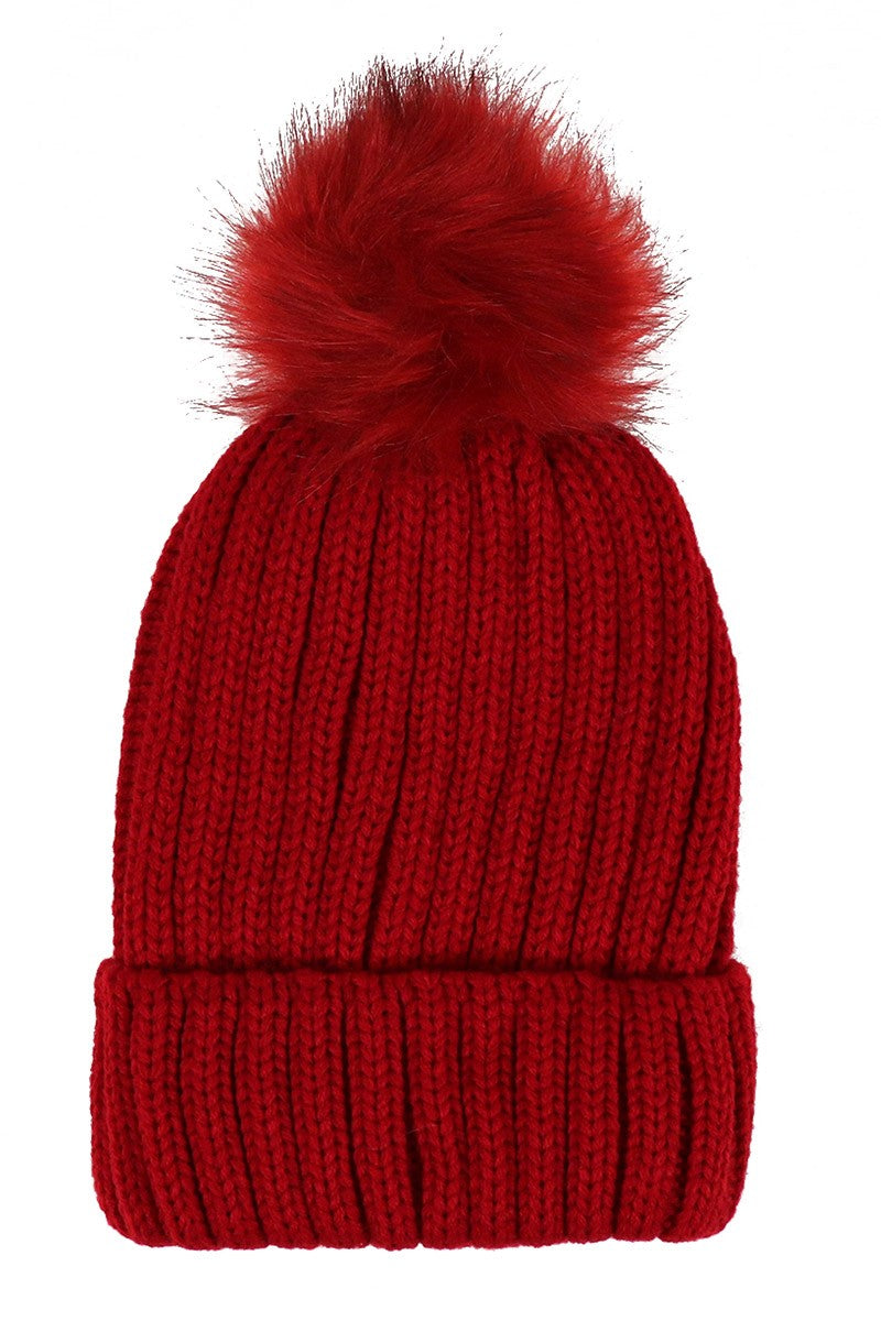 Ladies Knit Winter Hat *FINAL SALE*