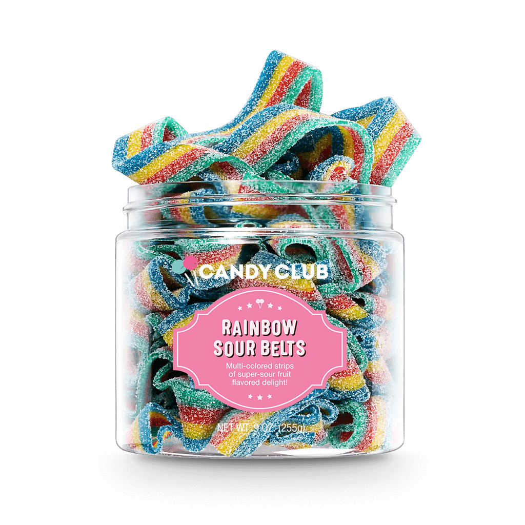 Candy Club® Rainbow Sour Belts