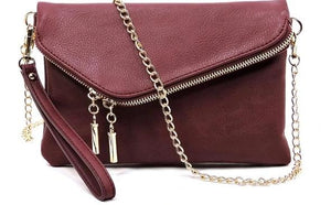 Fashion Envelope Foldover Clutch