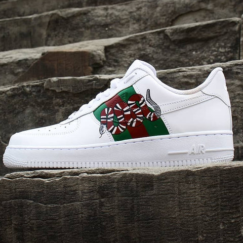 AIR FORCE 1 CUSTOM SNAKE