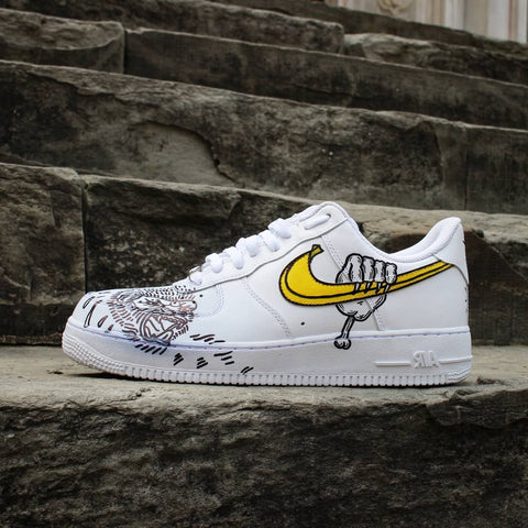 AIR FORCE 1 CUSTOM MONKEY