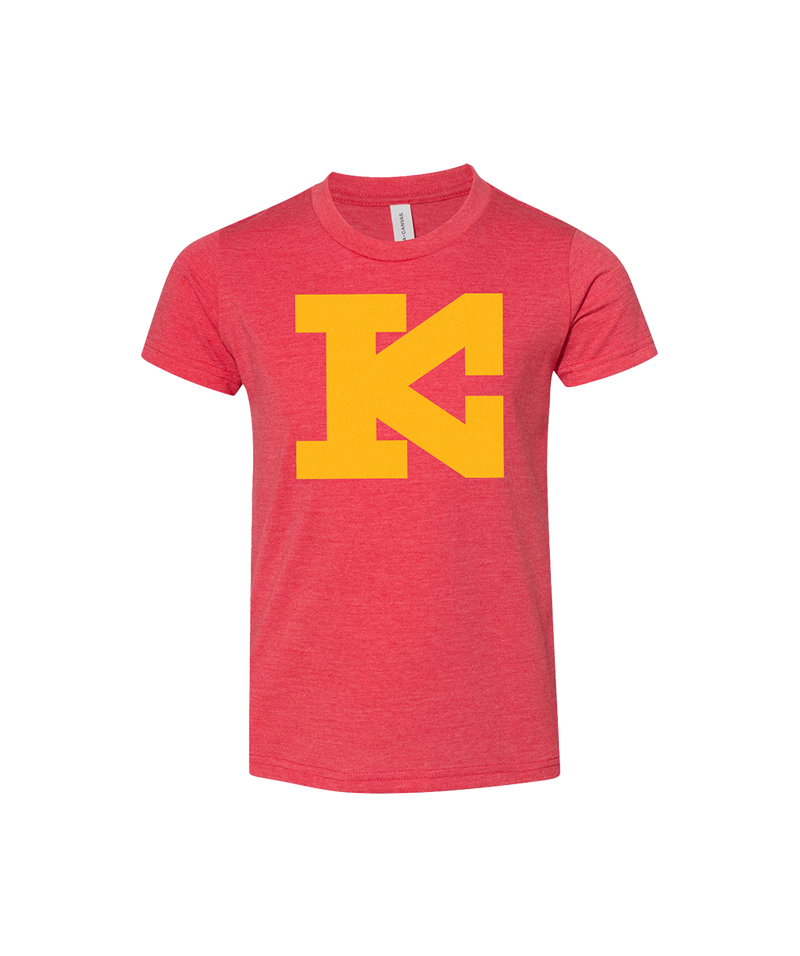 Block KC Kingdom - Youth T-Shirt - Red