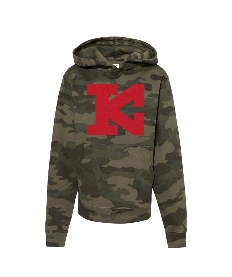 Block KC - Youth Hoodie - Camo