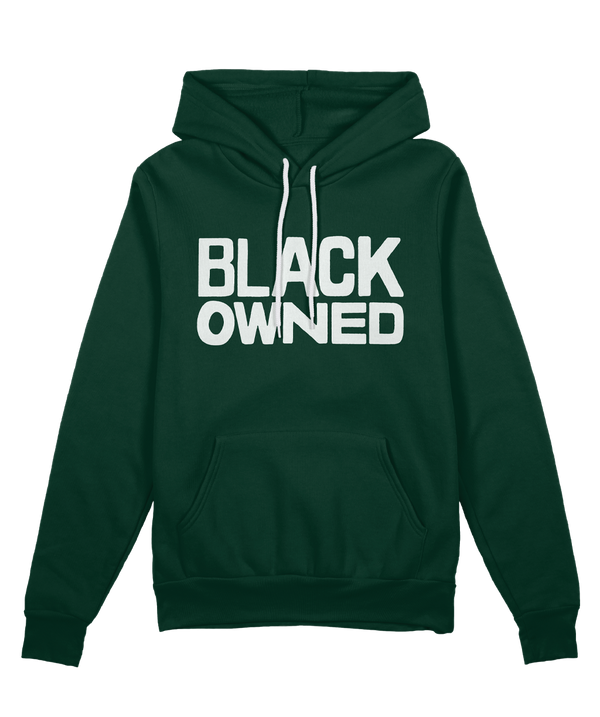 Black Owned Hoodie - Forest