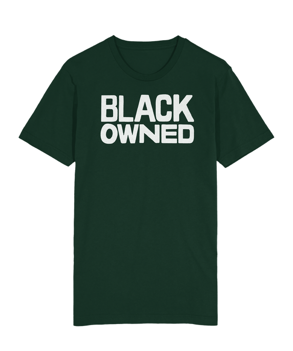 Black Owned T-Shirt - Forest