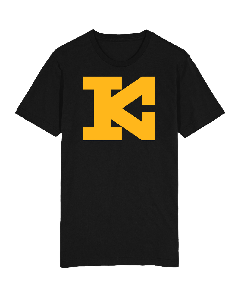 KC Block Kingdom T-Shirt Black Gold