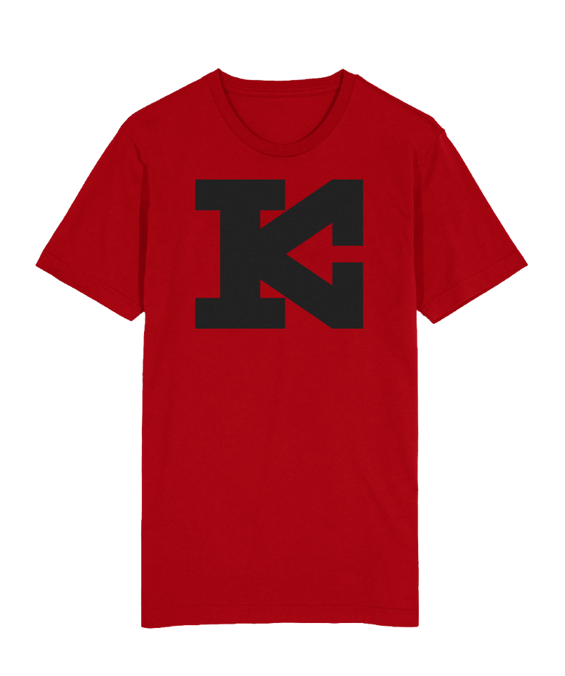 KC Block T-Shirt Red