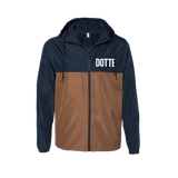 Dotte Windbreaker - Navy/Tobacco