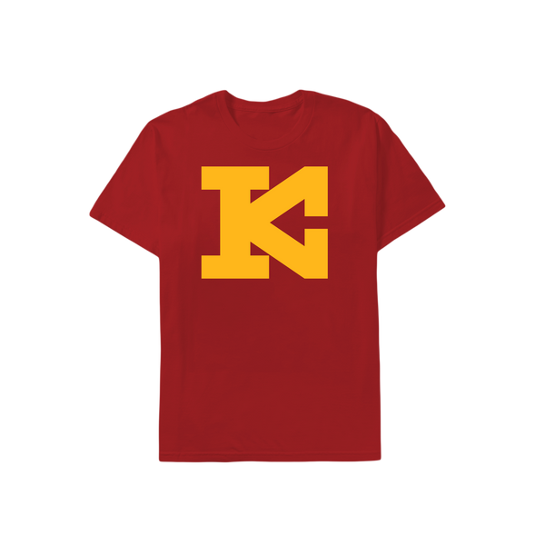 KC Block Kingdom T-Shirt - Red