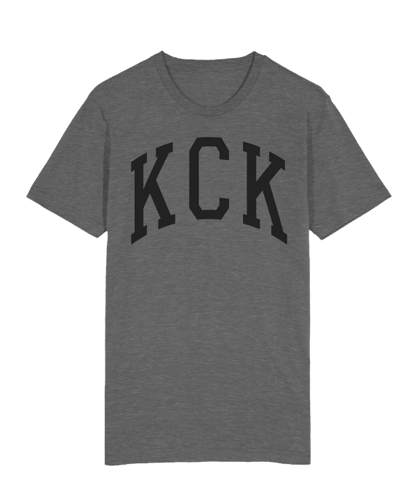KCK Collegiate Arch T-Shirt - Deep Heather