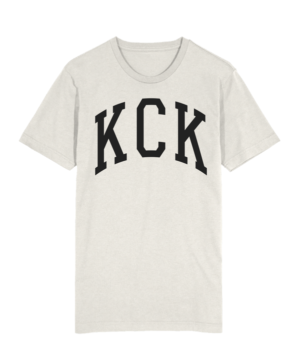 KCK Collegiate Arch T-Shirt - Heather Prism Natural