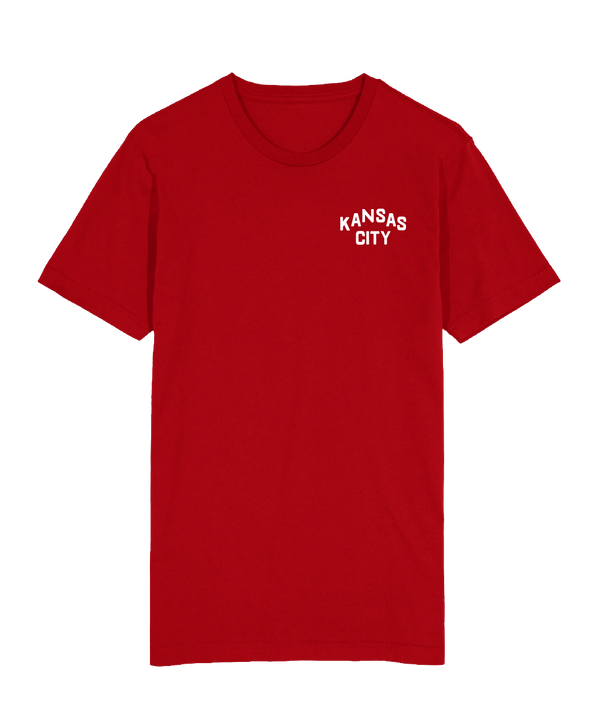KC Classic Left Chest T-Shirt - Red