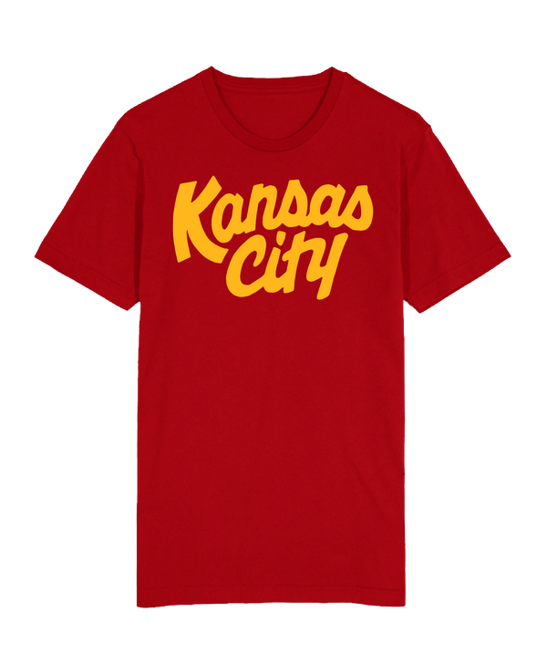 Kansas City Script Kingdom T-Shirt - Red