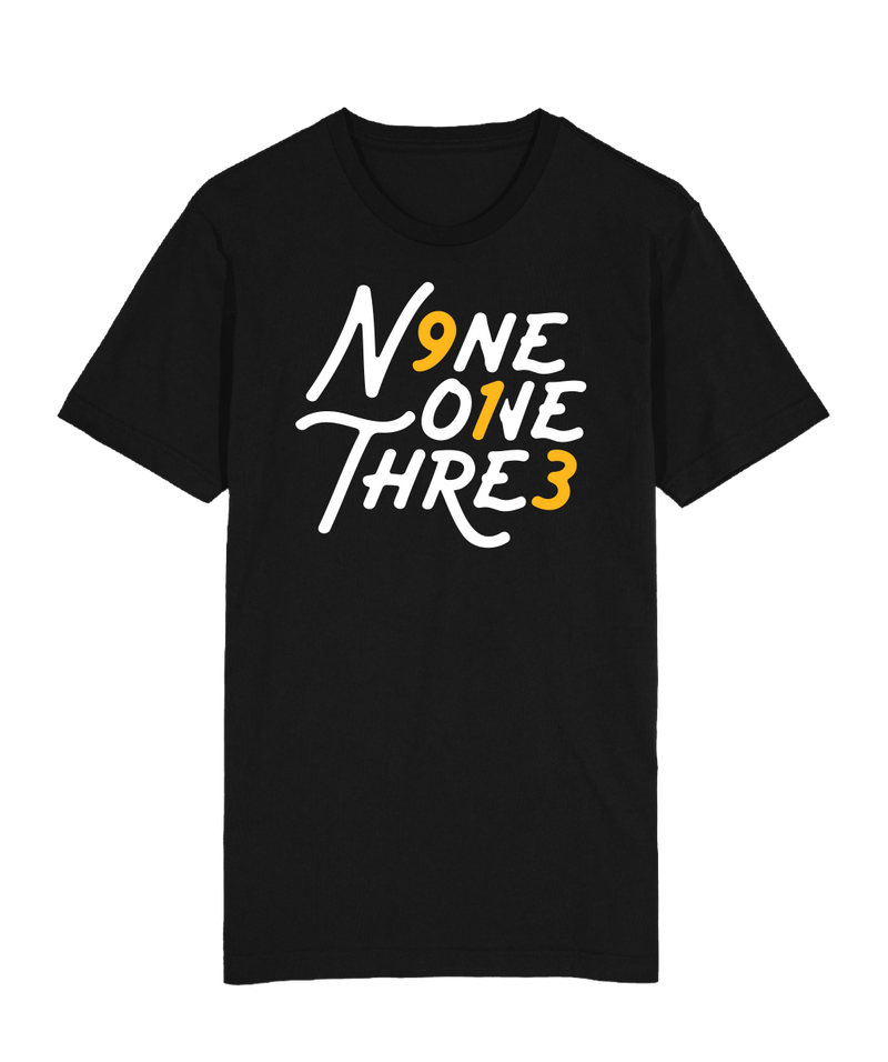 NineOneThree Day T-Shirt - Black