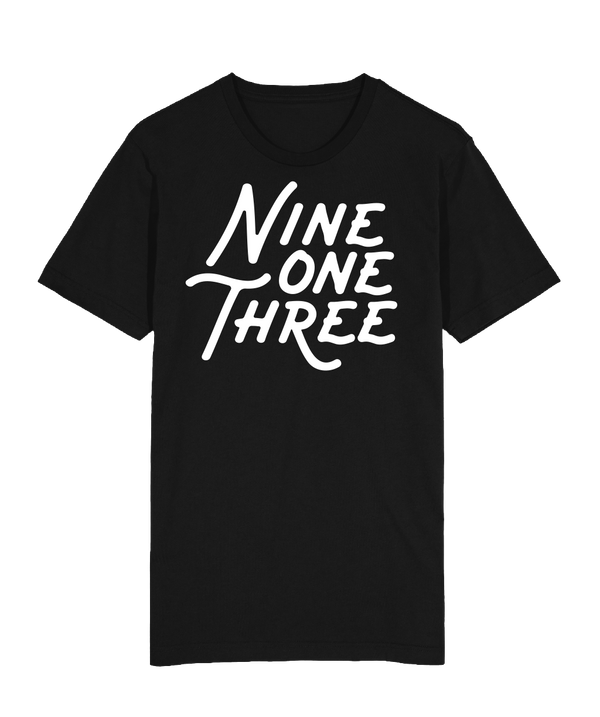 NineOneThree T-Shirt - Black