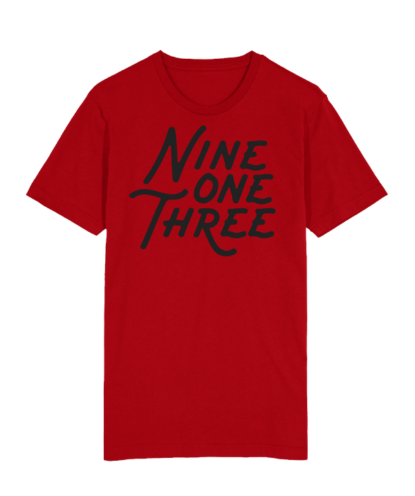 NineOneThree T-Shirt - Red