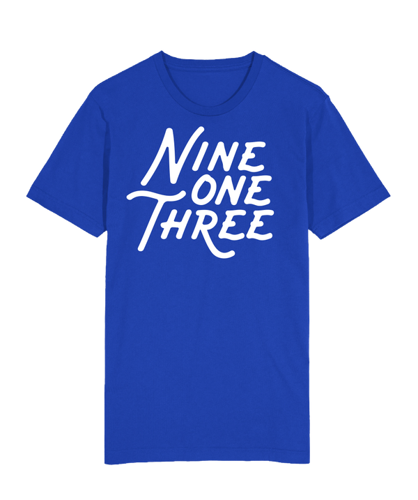 NineOneThree T-Shirt - Royal