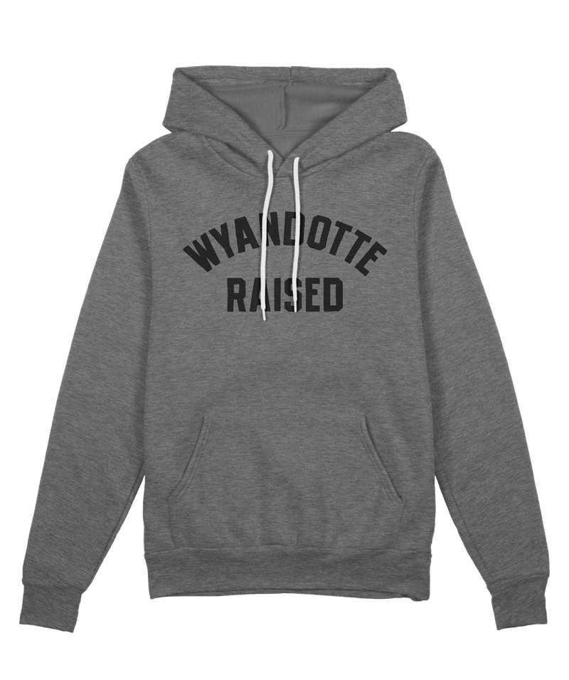 Wyandotte Raised Hoodie - Deep Heather