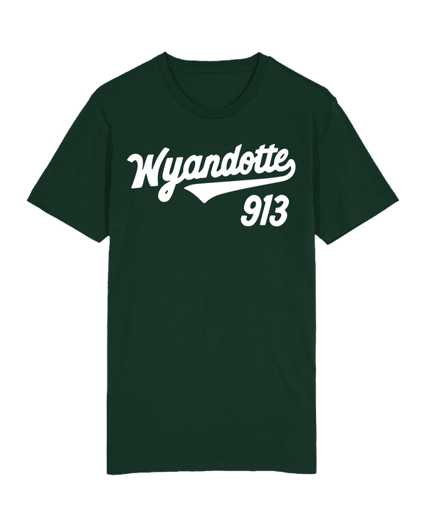 Wyandotte Script T-Shirt - Forest Green
