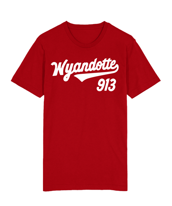 Wyandotte Script T-Shirt - Red