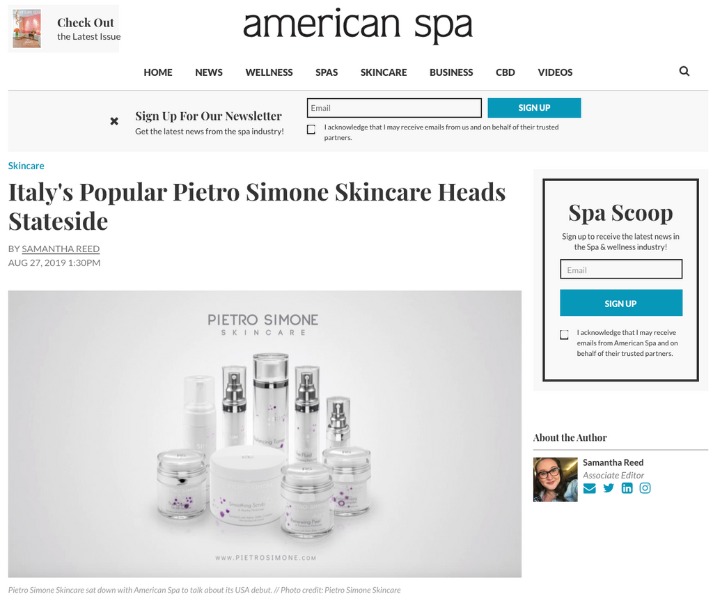 American Spa | August 2019