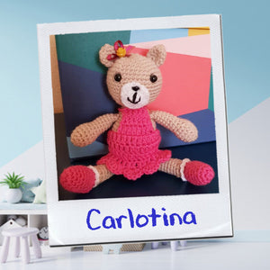 AMIGURUMI - Carlotina - Unique Sweet Crochet Friend