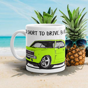 LIFE'S TOO SHORT Amazing Mad Charlie's Lime Charger Coffee Mug - madcharliestore