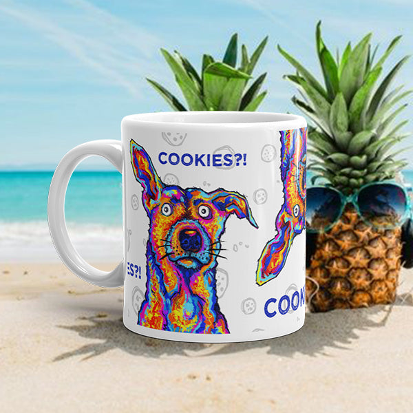 COOKIES DOG Amazing Mad Charlie's Coffee Mug - madcharliestore